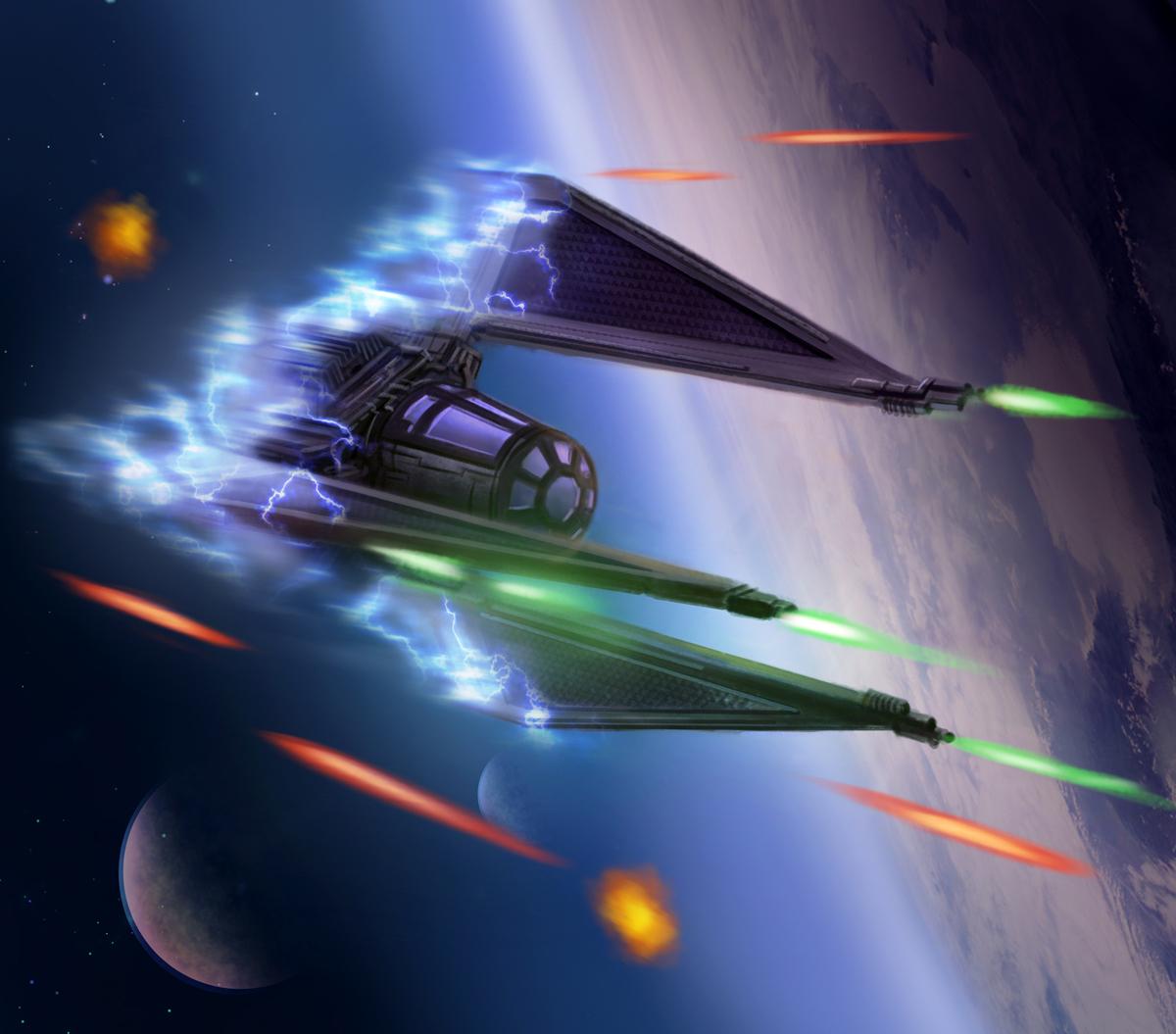 "TIE/ph ""Phantom"" Multi-Role Stealth Starfighter"