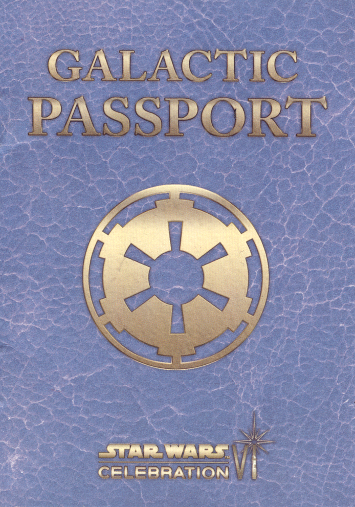 Galactic Passport (real-life artifact)