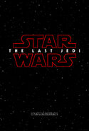Star Wars Episode 8 The Last Jedi Poster