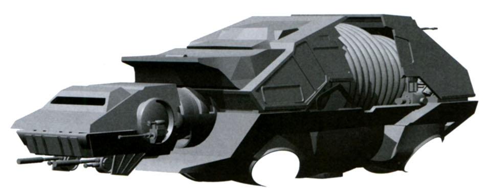 Aquatic Terrain Armored Transport