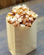 Chocolate Popcorn with Crait Red Salt