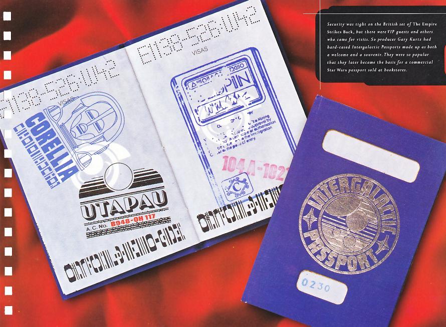 Intergalactic Passport (real-life artifact)
