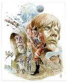 The Legends of Luke Skywalker unused cover art