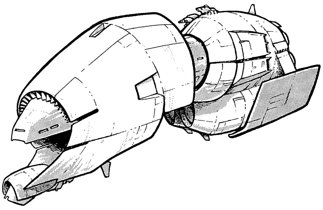 Adarian ship