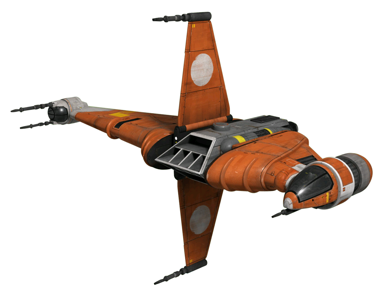 Prototype B6 Blade Wing