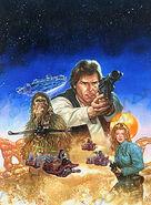 Han Solo's Revenge art 1997