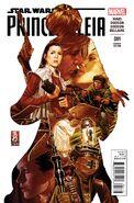 Princess Leia 1 Mark Brooks Variant cover