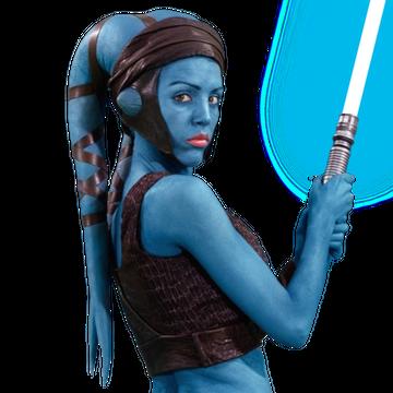 Star Wars Aayla Secura Earrings