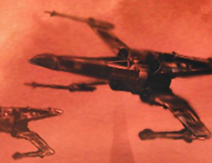XJ7 X-wing starfighter
