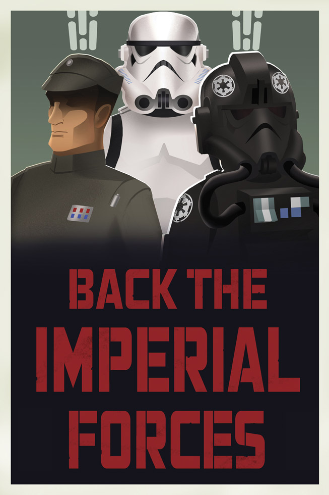 Back the Imperial Forces