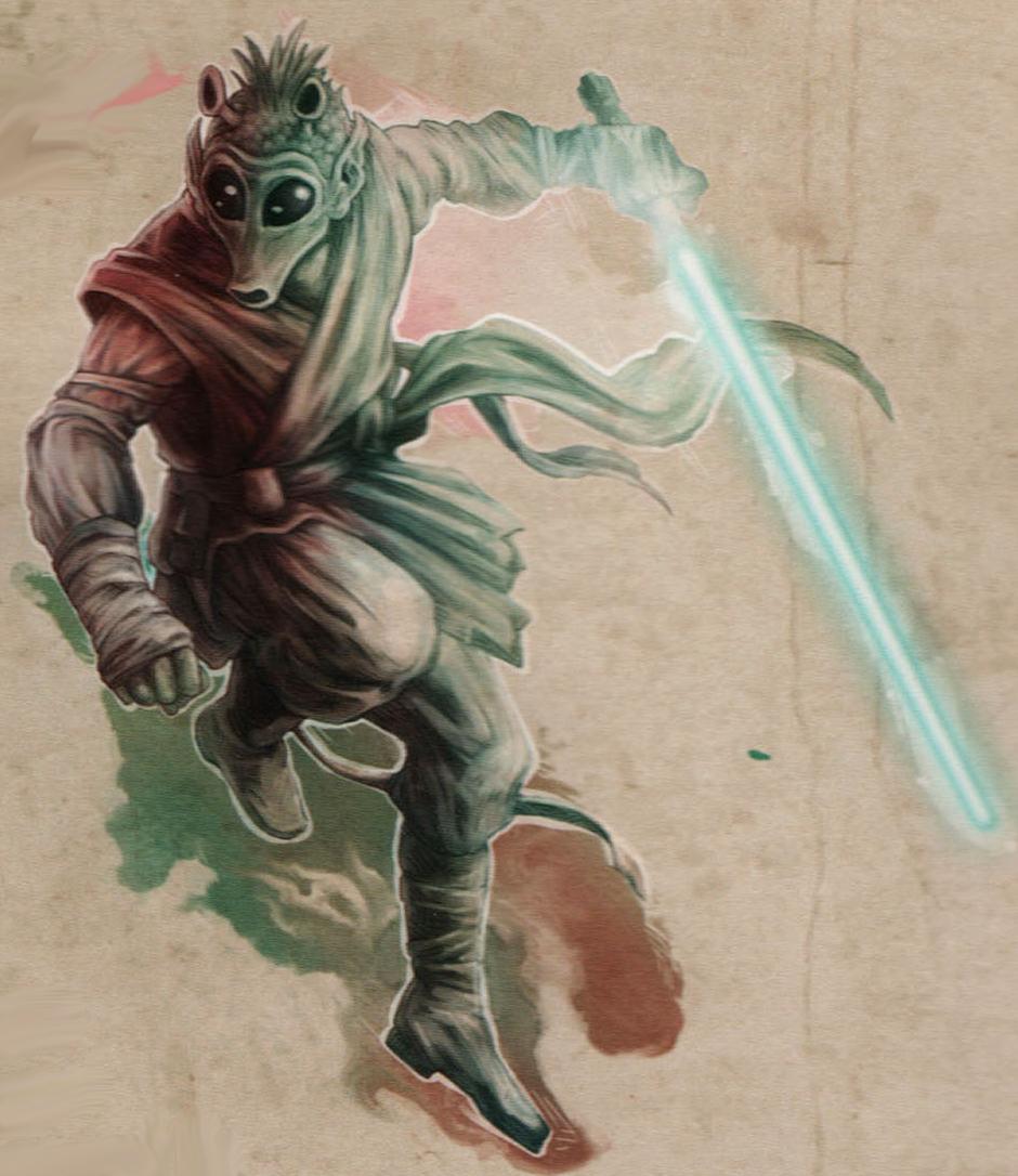 Huulik's lightsaber