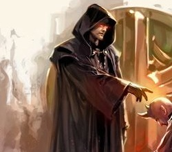 Unidentified humanoid Sith Master