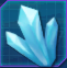 Hiridiu crystal
