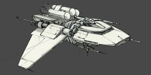 Cast Wing in Flight