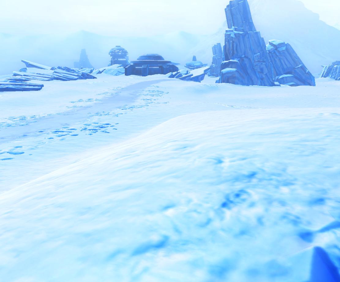 Frozen Footpath