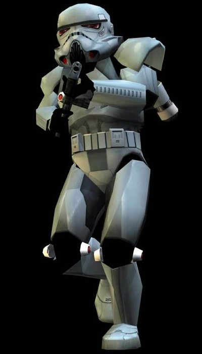 Phase Zero dark trooper