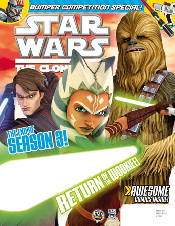 Star Wars: The Clone Wars Comic UK 6.19