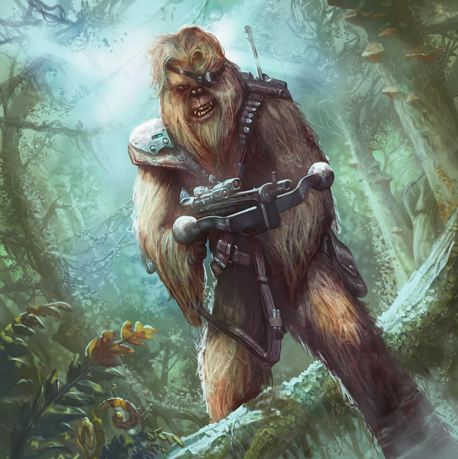 Bowcaster trooper