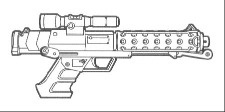 T-6 heavy blaster pistol