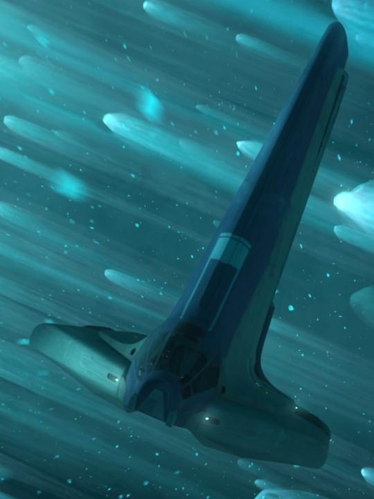 D-Squad's Maxillipede shuttle