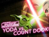 Yoda vs Count Dooku – Size Matters Not