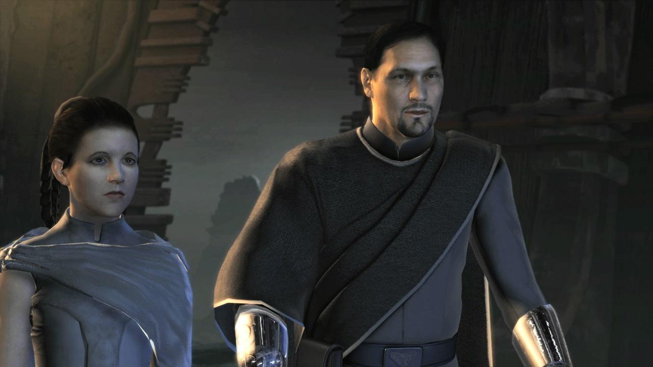 Alderaanian cloak