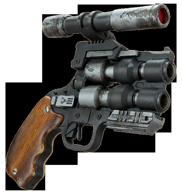 """Snubble special"" pistol"