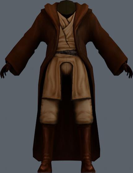Crado's robe
