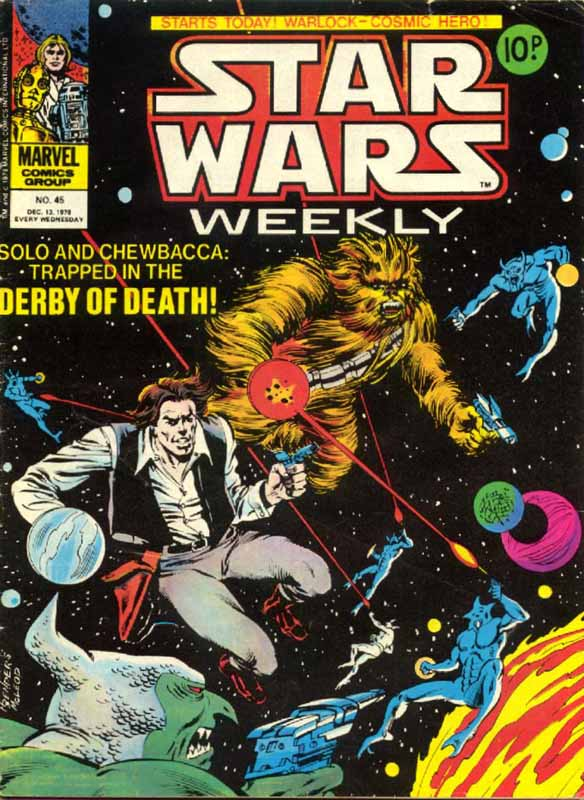 Star Wars Weekly 45