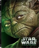Star Wars Episode II Attack of the Clones Blu-ray Steelbook