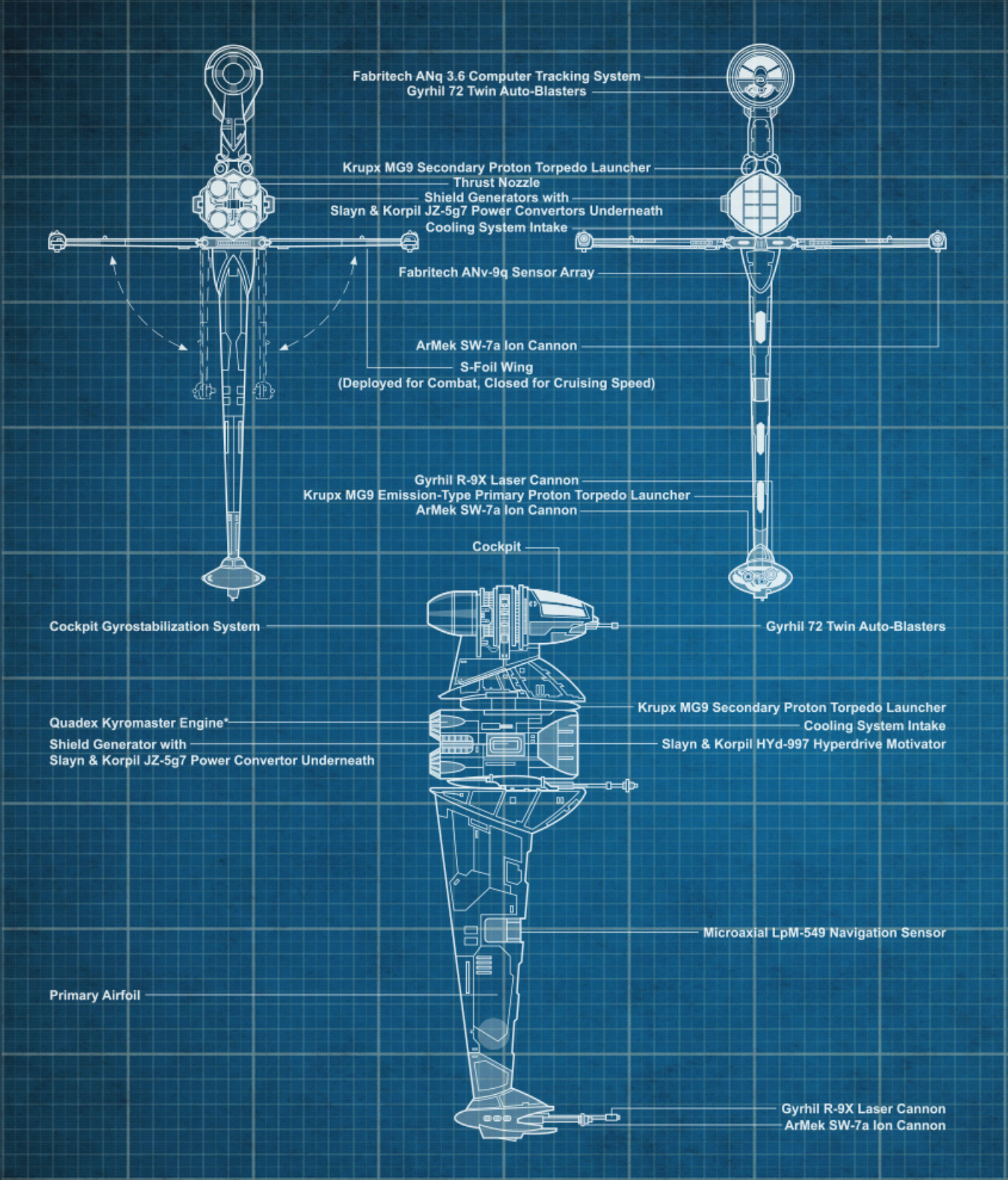 ASF-01 B-wing starfighter blueprints-sw card trader.png