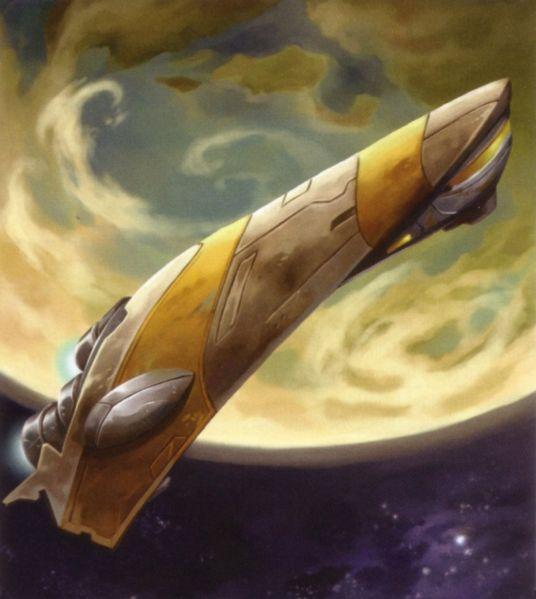 Baudo-class Space Yacht