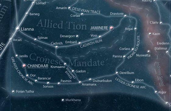 Cronese Mandate/Legends