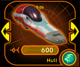 T-06 hull