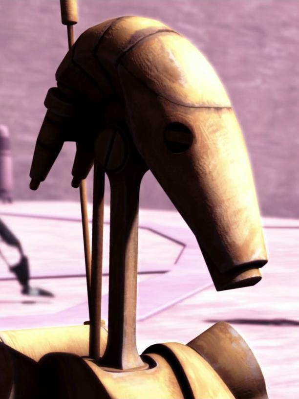 Unidentified B1 battle droid sergeant (Teth)/Legends