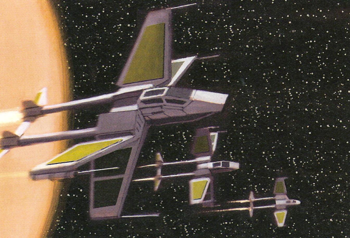 X-83 TwinTail starfighter