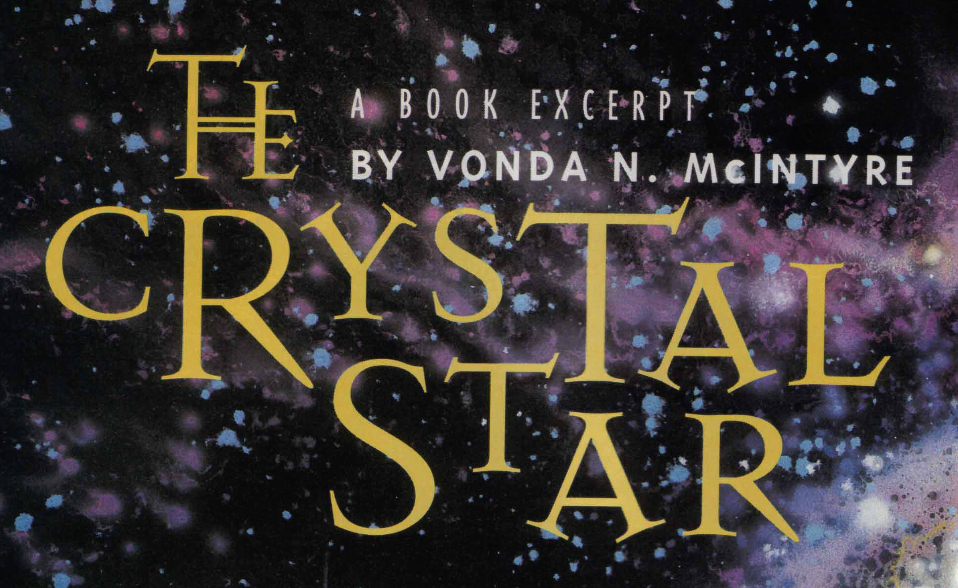 A Book Excerpt: The Crystal Star