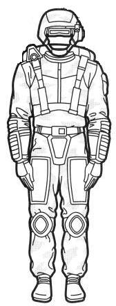 Camo scout armor