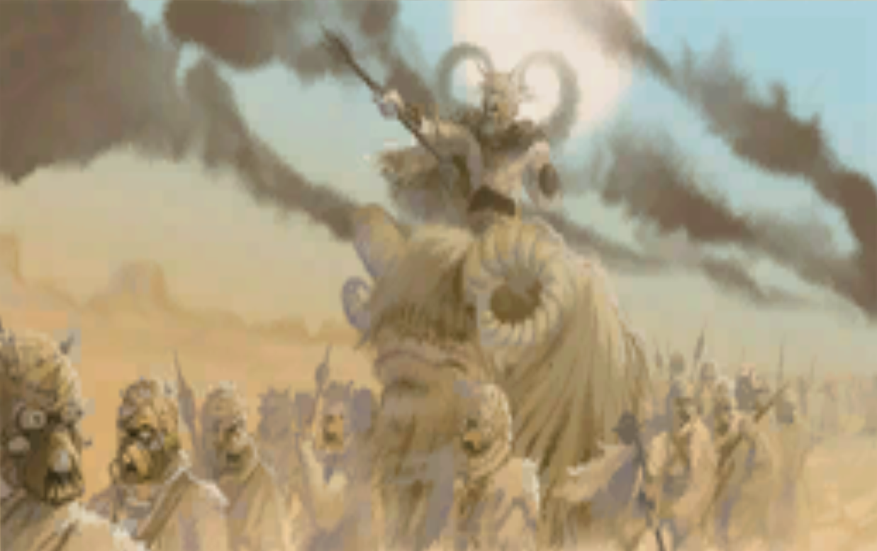 March of the Tuskens