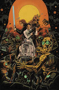 Star Wars Adventures Ghosts of Vaders Castle cover a
