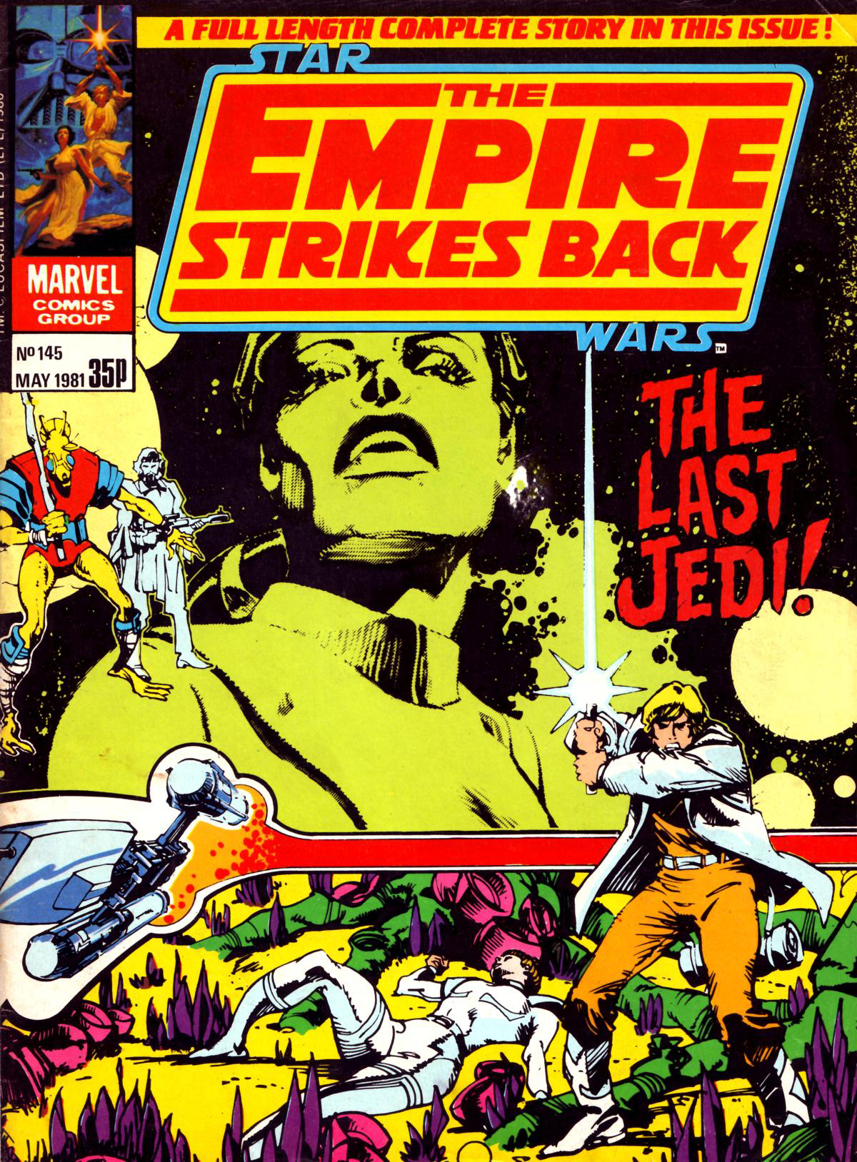 The Empire Strikes Back Monthly 145