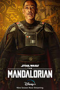 The Mandalorian Season 2 Moff Gideon Poster