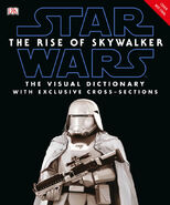 Star Wars The Rise of Skywalker Visual Dictionary Temp Cover