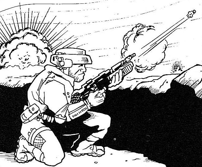 Viper 2 Grenade Launcher