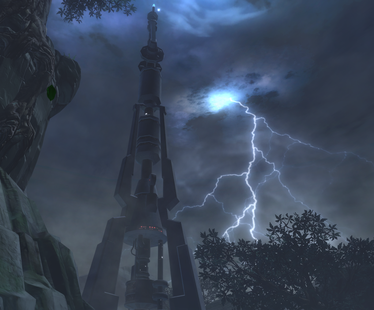 Lightning spire