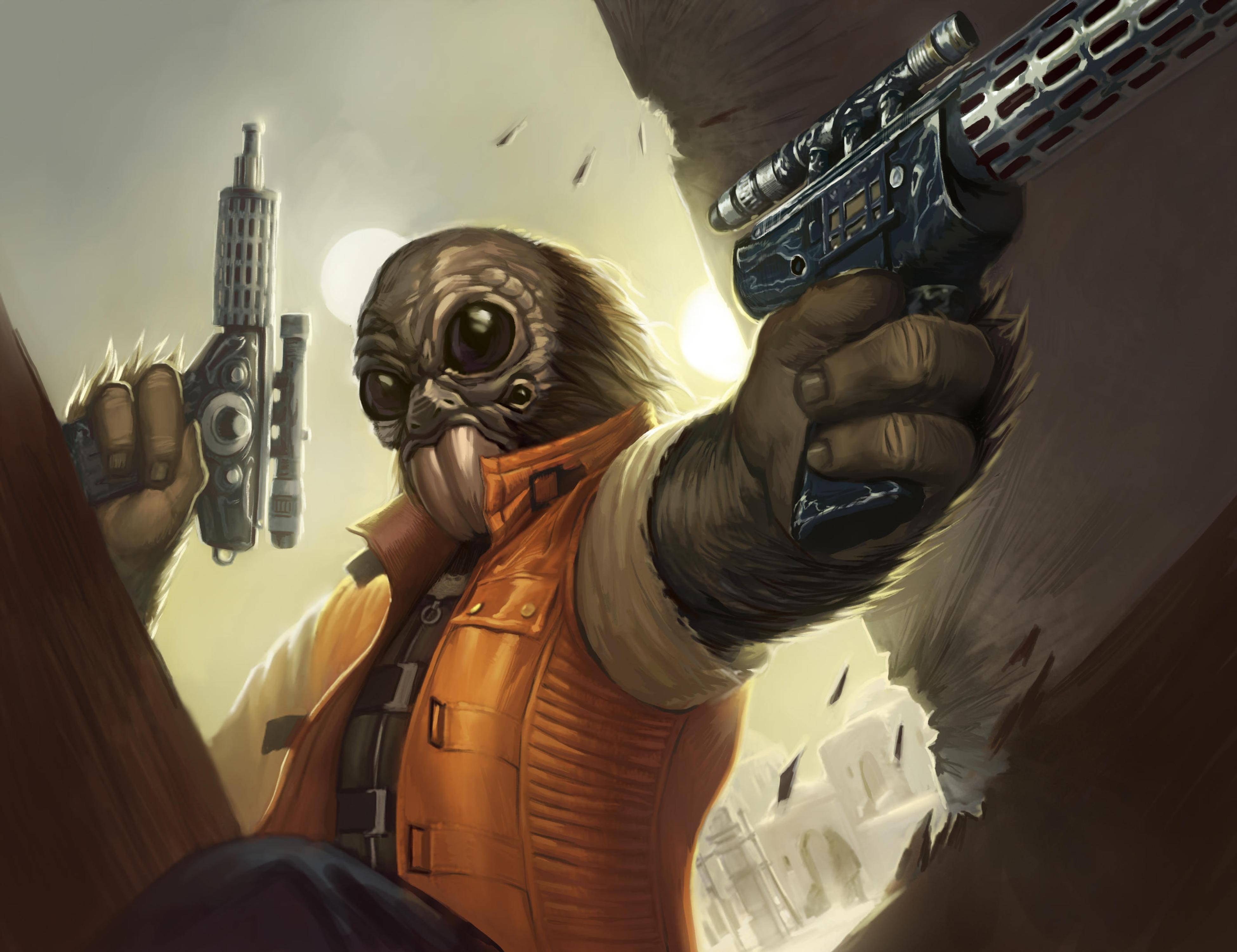Unidentified Aqualish bounty hunter (Outer Rim)