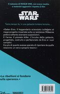 Rogue One novelization Italian back cover