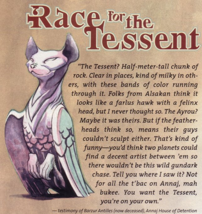 Race for the Tessent