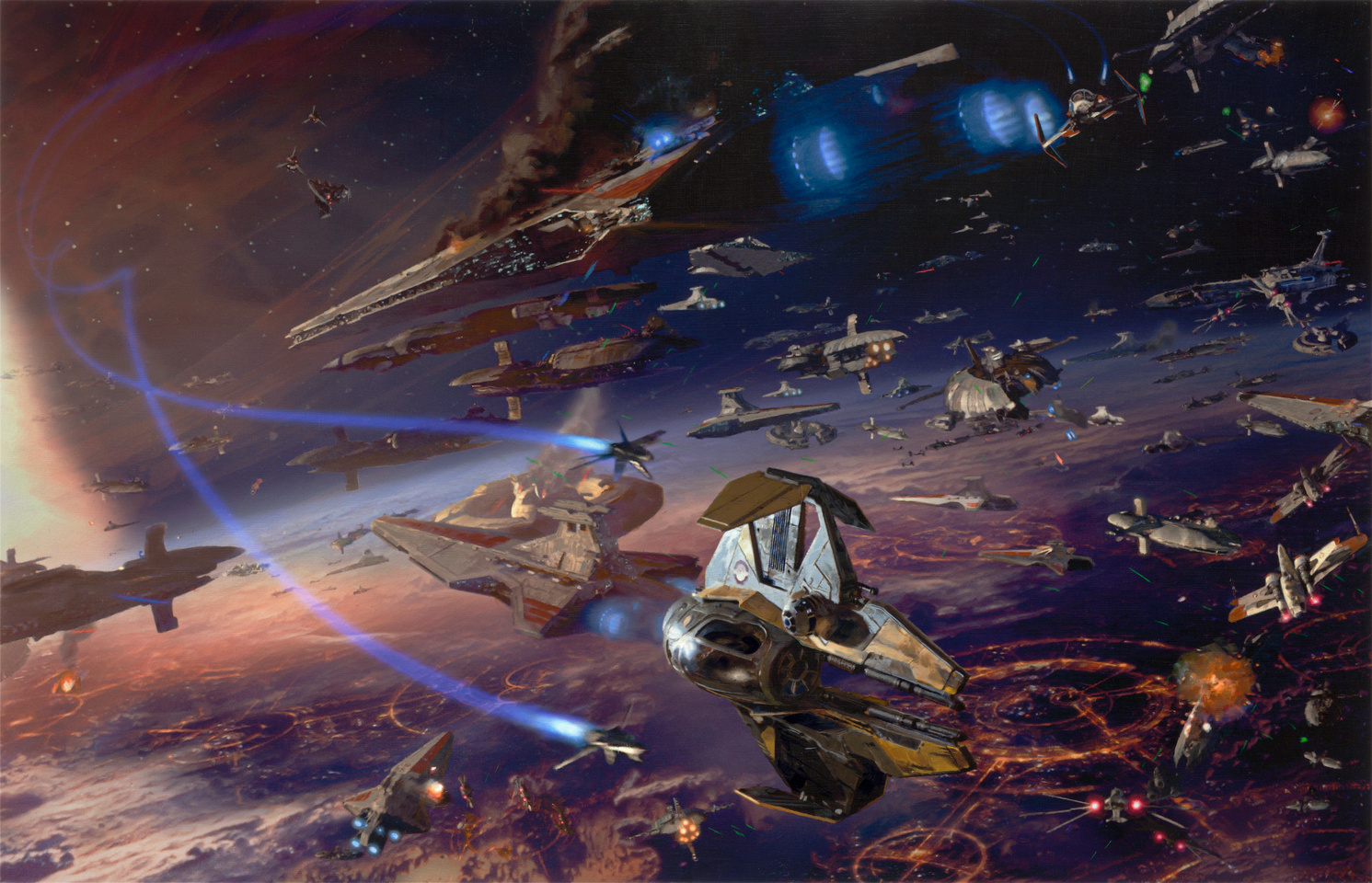 Battle of Coruscant/Legends