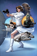 Star Wars Princess Leia Vol 1 1 Dynamic Forces Variant